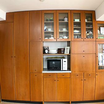 7F 備付食器棚
