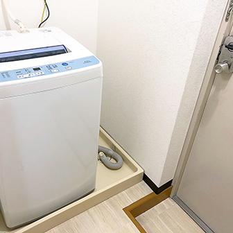 洗濯機・勝手口