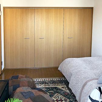 寝室Bシングルベッド