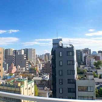 9F 屋上からの眺望