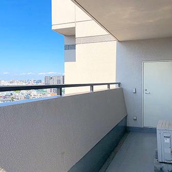 11階大通側ベランダ