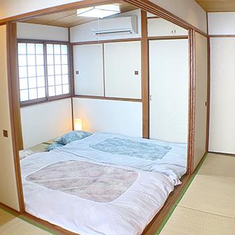 8F 寝室布団2組
