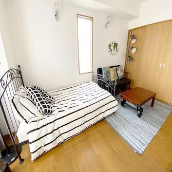 寝室A男前部屋