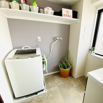 脱衣所&洗濯機