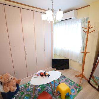 子供部屋風個室