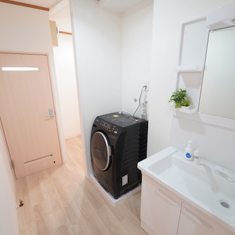 洗面所・ドラム式洗濯機
