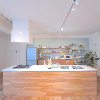 キッチン正面全体