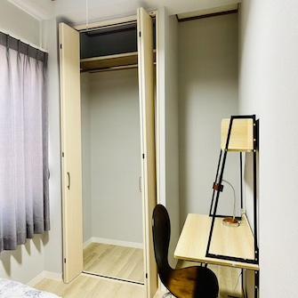 個室Aクローゼット
