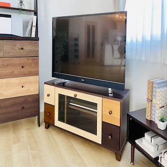 43型テレビ・Mサイズテレビ台